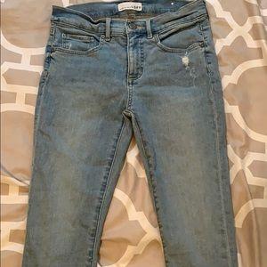 Loft skinny crop jeans